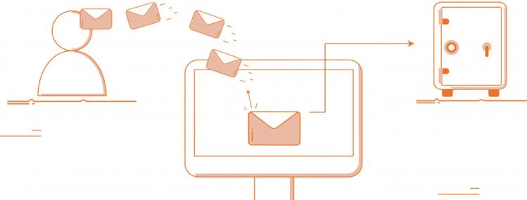 Archiviazione di posta e PEC